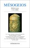 Collectif - Mésogeios N° 9-10 / 2000.