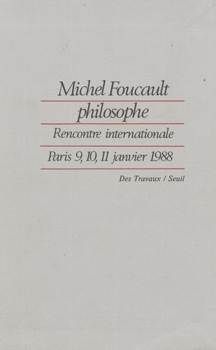 Michel Foucault philosophe - Format PDF - 9782021262285 - 8,99 €