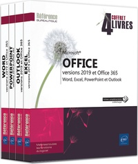 Microsoft Office (versions 2019 et office 365) - - Coffret en 4 volumes : Word, Excel, Powerpoint et Outlook.pdf