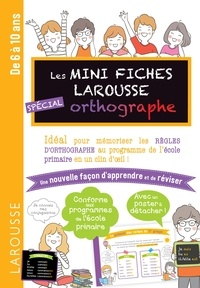 Collectif - Mini Fiches d'orthographe.