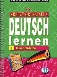 Deedr.fr Mit Kreuzworträtseln Deutsch lernen 1 Grundstufe Image