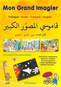 Deedr.fr Mon grand imagier : dictionnaire Trilingue : arabe - français - anglais Image