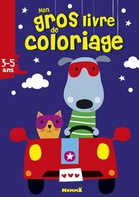 Deedr.fr Mon gros livre de coloriage chien-chat Image