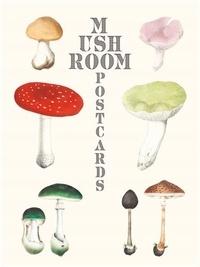 Collectif - Mushroom postcards /anglais.