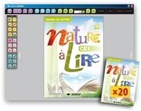 Collectif - Nature a lire ce1 - 20 manuels papier + version numerisee.