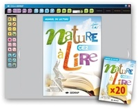 Collectif - Nature a lire ce2 - 20 manuels papier + version numerisee.