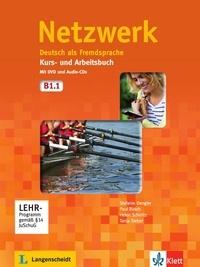 Histoiresdenlire.be Netzwerk. Kurs- und Arbeitsbuch mit DVD und 2 Audio-CDs B1.1 - Deutsch als Fremdsprache Image