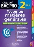 Collectif - Objectif Bac - Tout en Un - Bac Pro 2nde.