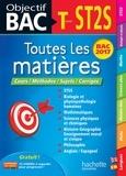 Collectif - Objectif Bac - Toutes les matières Term ST2S.