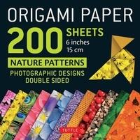 Lesmouchescestlouche.fr Origami paper 200 sheets nature patterns 6