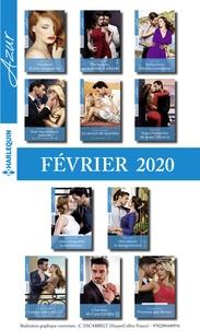 Téléchargements de livres gratuits pour ipod Pack mensuel Azur : 11 romans (Février 2020) in French CHM MOBI PDB par