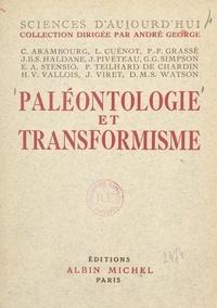 Collectif et  Colloque international de palé - Paléontologie et transformisme.