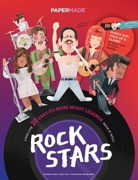 Accentsonline.fr Papermade Paper Rockstars - 20 easy-to-make musicians Image