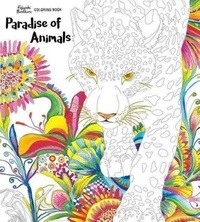 Collectif - Paradise of animals adult coloring book.