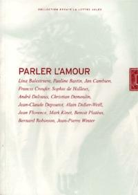 Parler lamour. Actes du colloque de lécole belge de psychanalyse, Liège, 30 septembre -1er octobre 2000.pdf