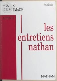 Collectif et Alain Bentolila - Parole, écrit, image - Entretiens Nathan, Actes III, des 28 et 29 novembre 1992.
