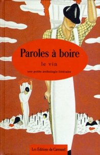 PAROLES A BOIRE. Le vin.pdf