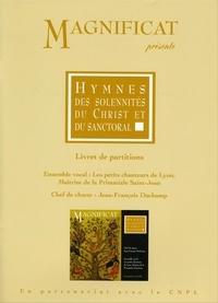 Collectif - Partitions / hymnes des solennites du christ et du sanctoral.