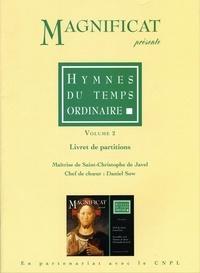 Collectif - Partitions / hymnes du temps ordinaire 2.