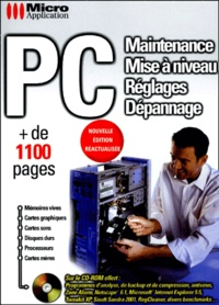 PC. Maintenance, mise à niveau, réglages, dépannage, avec CD-ROM.pdf