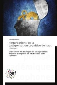 Era-circus.be Perturbations de la catégorisation cognitive de haut niveau Image