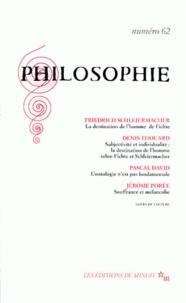 Galabria.be PHILOSOPHIE N° 62 JUIN 1999 Image