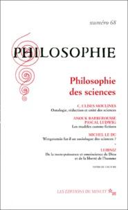 Collectif - Philosophie N° 68 Décembre 2000 : Philosophie des sciences.