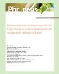 Collectif - Phronésis. Vol. 3, numéro 3 | 2014.