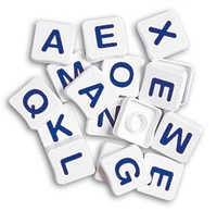 Collectif - Pions-lettres majuscules.