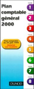 Galabria.be Plan comptable général 2000. Plan autorisé au examen, édition du 22 juin 1999 Image