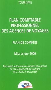 Deedr.fr Plan comptable professionnel des agences de voyages. Plan de comptes, Mise à jour 2000 Image