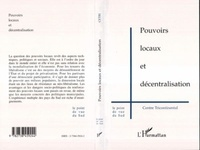 Collectif - Pouvoirs locaux et décentralisation.