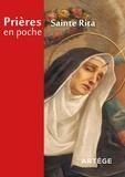 Collectif - Prières en poche - Sainte Rita.