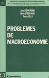 Collectif - Problèmes de macroéconomie.