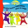 Collectif - Quatre joyeux Teletubbies dans la neige.
