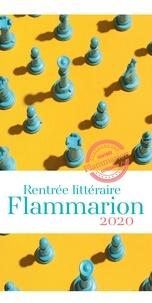 Collectif et Alice Zeniter - Rentrée littéraire Flammarion - 2020.
