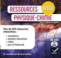 Collectif - Ressources Physique-chimie Lycée  - Éd. 2021 - Clé USB de ressources.