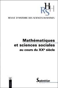 Revue dhistoire des sciences humaines N° 6 2002 : Mathématiques et sciences sociales au cours du XXème siècle.pdf