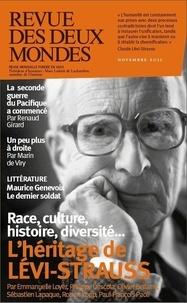 Collectif - Revue des Deux Mondes Novembre 2021 - Claude Lévi-Strauss.