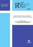 Collectif - Revue des nouvelles technologies de l'information, nº E-21. Fouille de données complexes - Complexité liée aux données multiples.