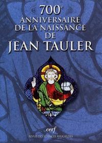 Revue des sciences religieuses N° 4 Octobre 2001 : 700ème anniversaire de la naissance de Jean Tauler -  pdf epub