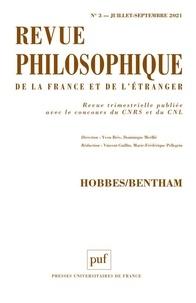 Collectif - Revue philosophique 2021, t. 146(3) - Hobbes/Bentham.