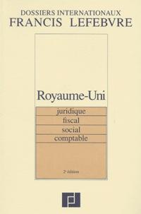 Histoiresdenlire.be Royaume-Uni. Juridique, Fiscal, Social, Comptable, 2ème édition Image