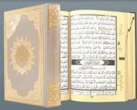 Collectif - Sain coran tajweed (avec mots du coran et index des thèmes coraniques) (couverture dorée).