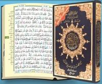 Collectif - Saint coran tajweed lecture warsh : avec mots du coran et index des thèmes coraniques.
