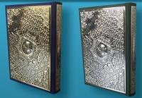 Deedr.fr Saint coran tajweed, lecture warsh, avec plaque dorée-argentée, velours couverture Image