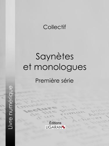 Saynètes et monologues. Première série