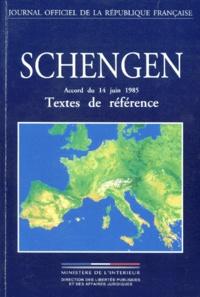 SCHENGEN. Accord du 14 juin 1985, textes de référence, édition mise à jour au 8 mars 1996.pdf
