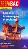Collectif - Sciences économiques et sociales - Terminale ES, enseignement obligatoire, enseignement de spécialité.