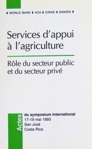 Feriasdhiver.fr Services à l'appui de l'agriculture : rôle du secteur public et du secteur privé Image